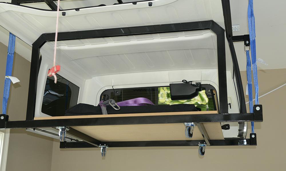 Jeep Hard Top Lift The Garage Box
